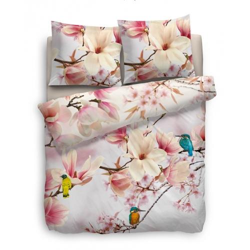 hnl living bettw sche mako satin julie mayer matratzen. Black Bedroom Furniture Sets. Home Design Ideas
