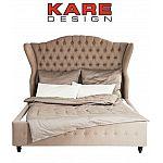 KARE Bett City Spirit Linen Natural 180x200 cm