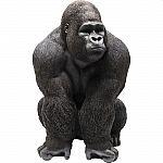KARE Deko Figur Monkey Gorilla Front XXL
