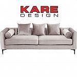 KARE Sofa 3-Sitzer Variete Grau