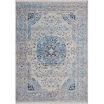 Lalee Teppich Vintage VIN 701 blau