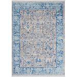 Lalee Teppich Vintage VIN 702 silber blau